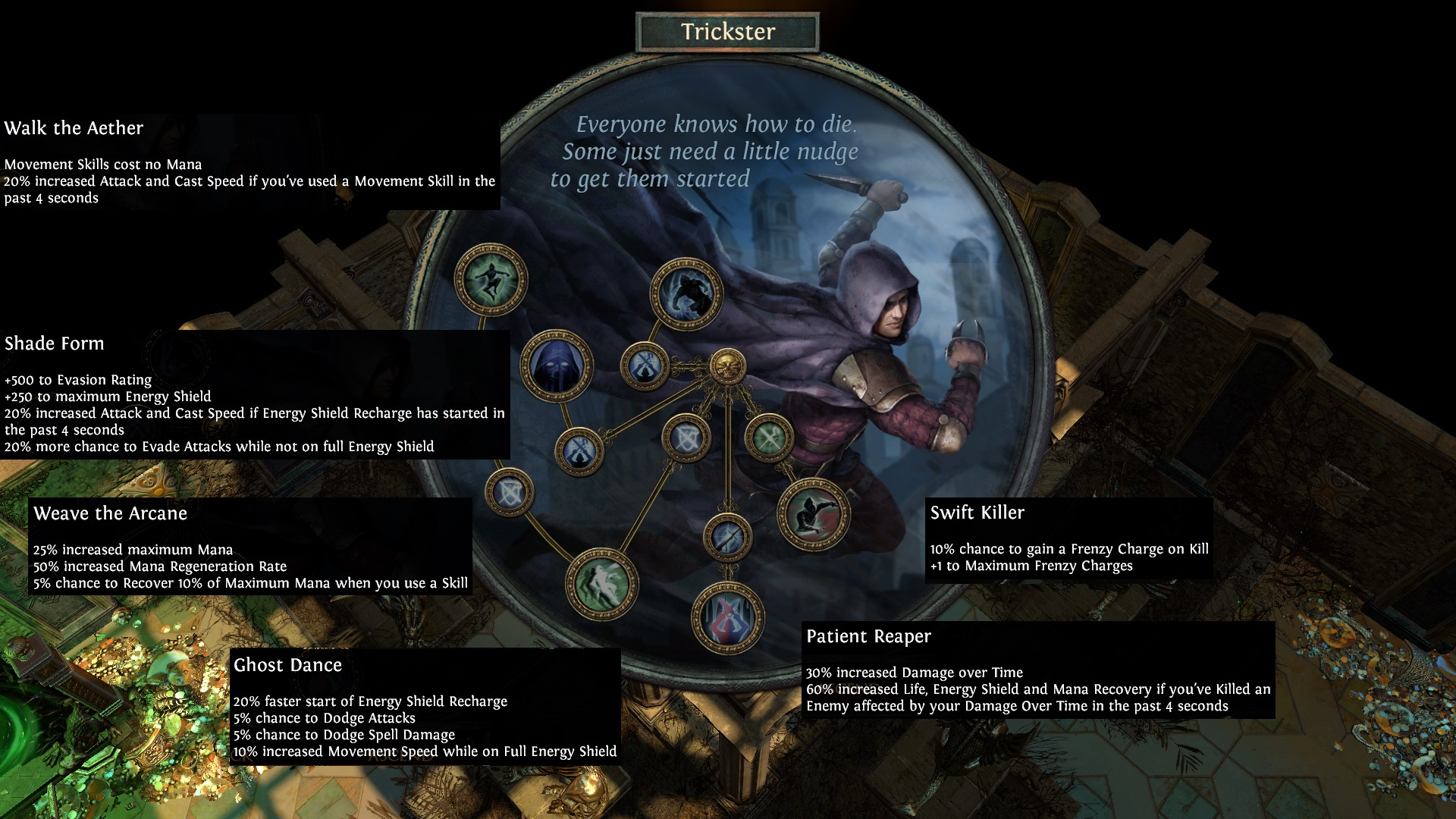 Preview] GG Reveals the Trickster - Interview and Full Class Skills