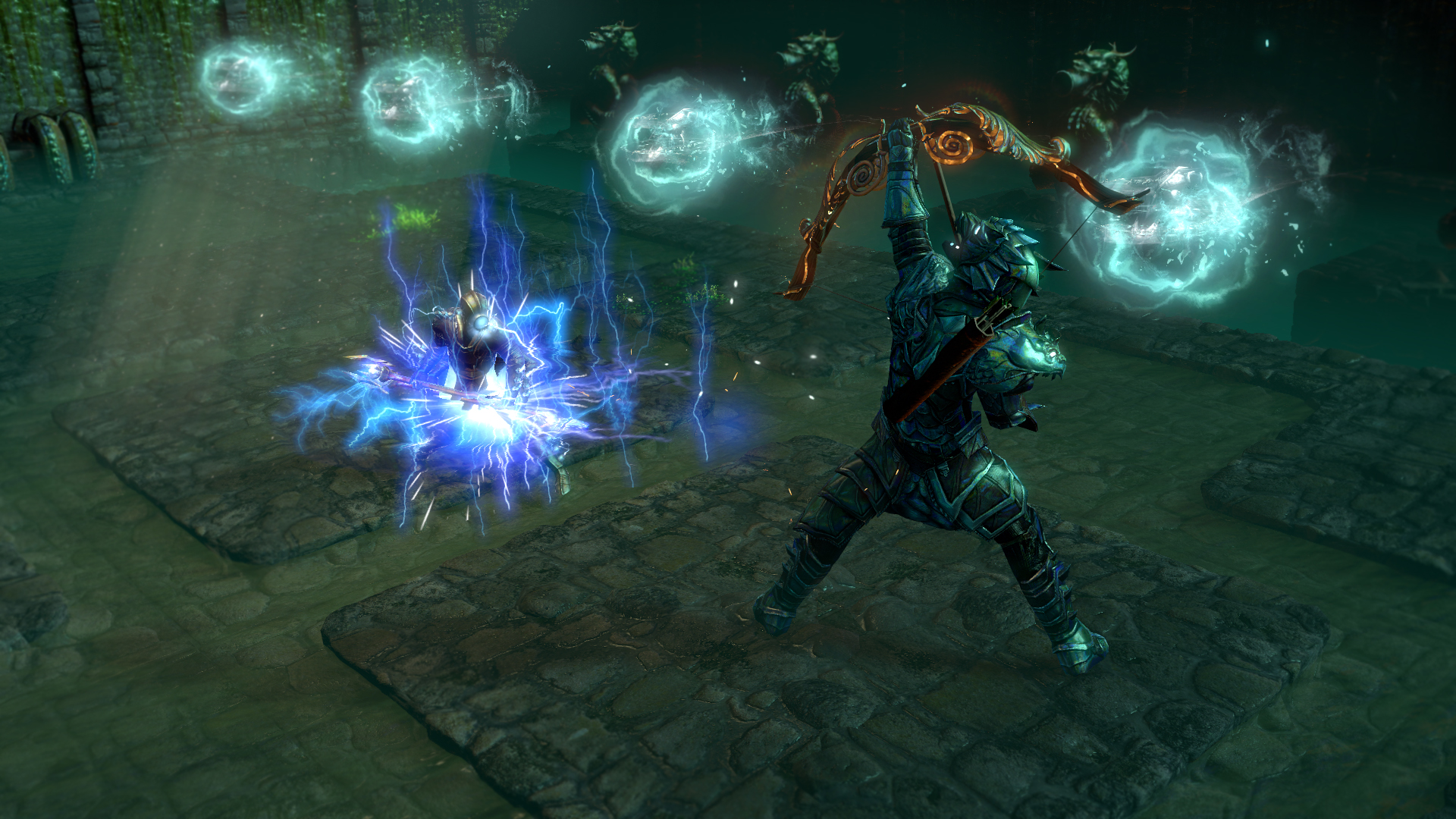 Lightning and archery in Path of Exile's Atlas of Worlds