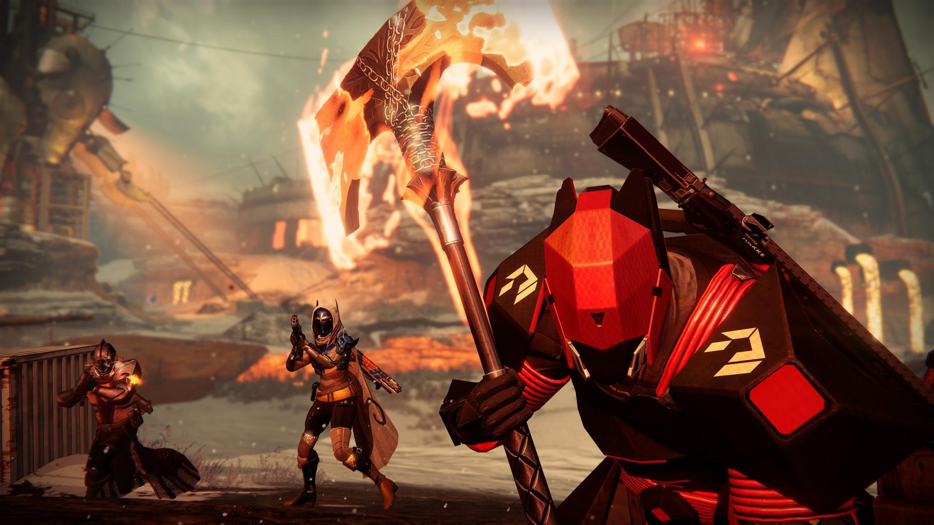 Destiny: Rise of Iron will feature two new PvP maps