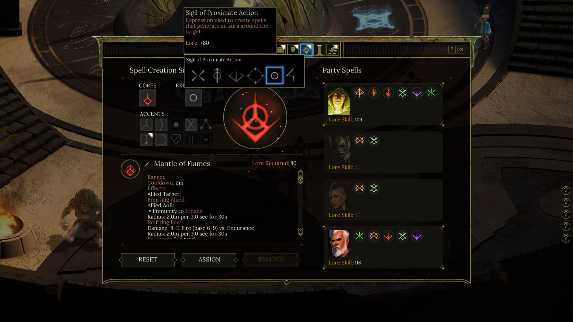 Tyranny features a sigil system