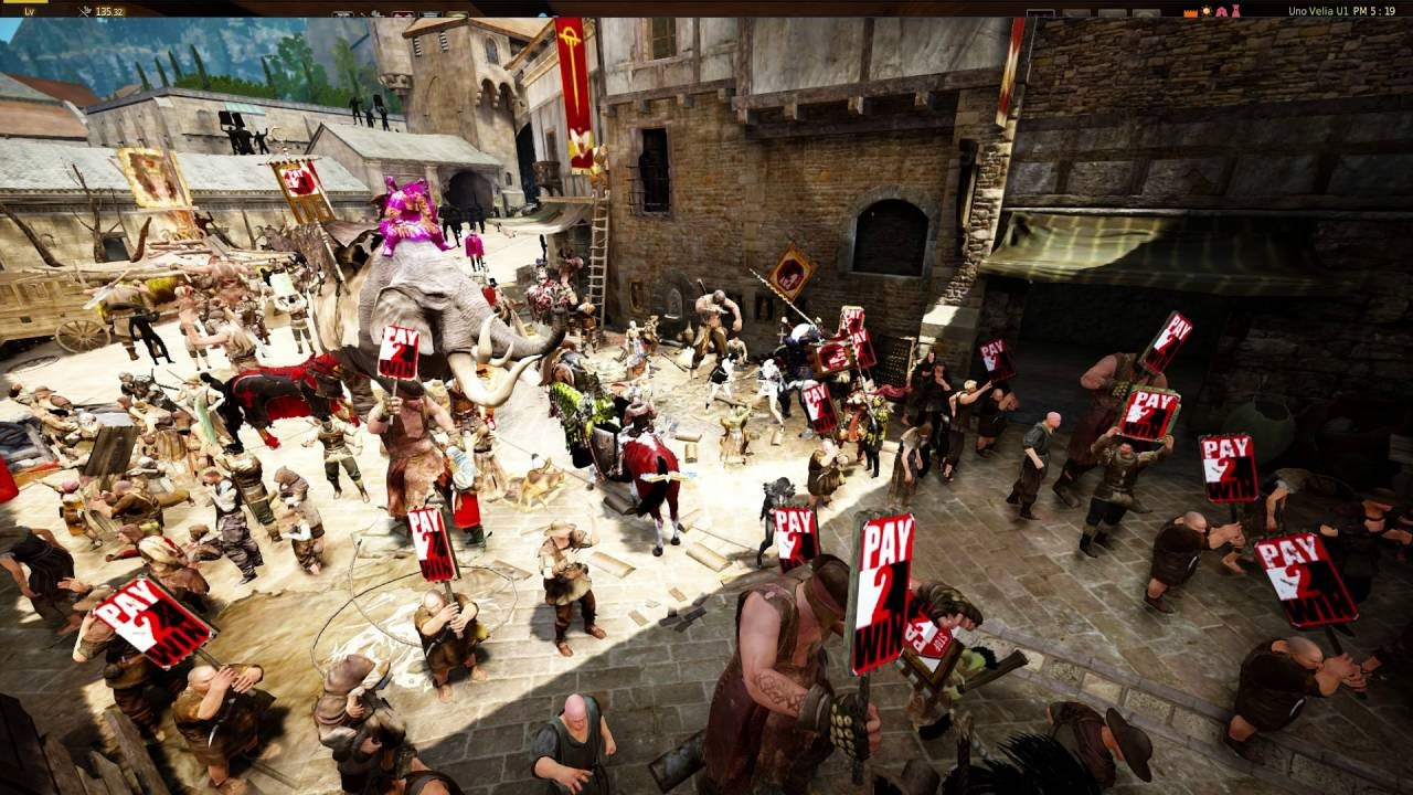 Black Desert Online's Players confused pay to progress, with pay to win...