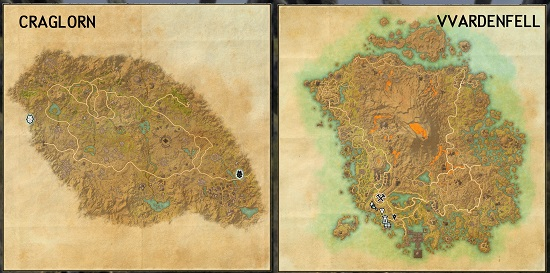 ESO: Morrowind Size Comparison (Now With A Summerset Update) — Elder ...