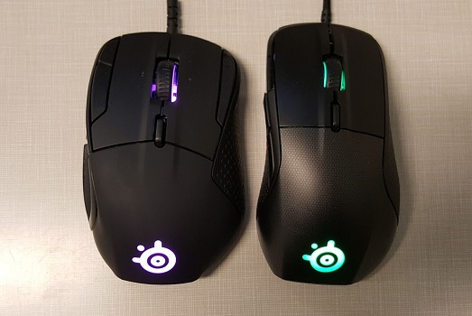 41f3ebacc5f Rival 500 left, Rival 700 right. The 700 is slimmer and less prone to hold  onto little bits of dust