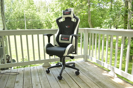 Terrific Gt Omega Sport Gaming Chair Sitting In The Lap Of Luxury Uwap Interior Chair Design Uwaporg