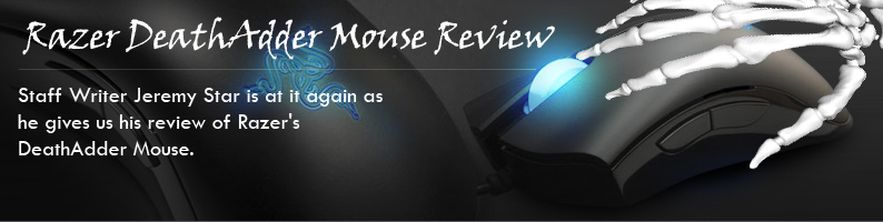 Razer DeathAdder Mouse Review