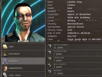 Correspondent - Character Creation Guide - EVE Online