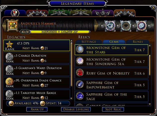 f13 net forums - Lord of the Rings Online: Legendary Weapons (good
