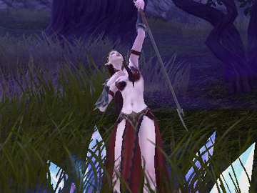 Warhammer Online Sorceress Screenshot
