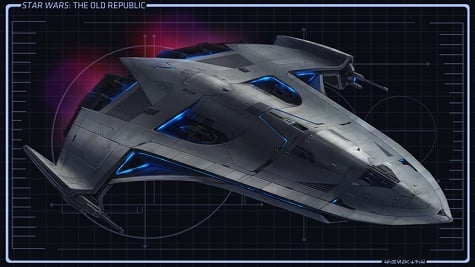 star wars old republic ships. Star Wars: The Old Republic