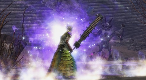 Mesmer with a Greatsword