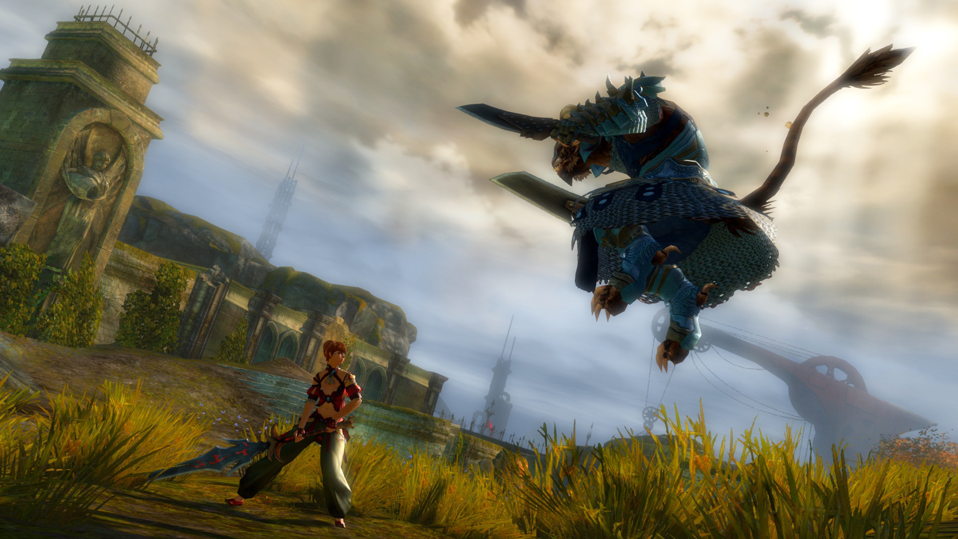 Guild Wars 2  Picking a Race  MMORPG.com