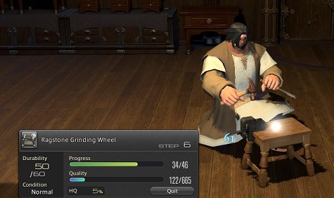 Final Fantasy XIV: A Realm Reborn Column: Crafting and Harvesting in