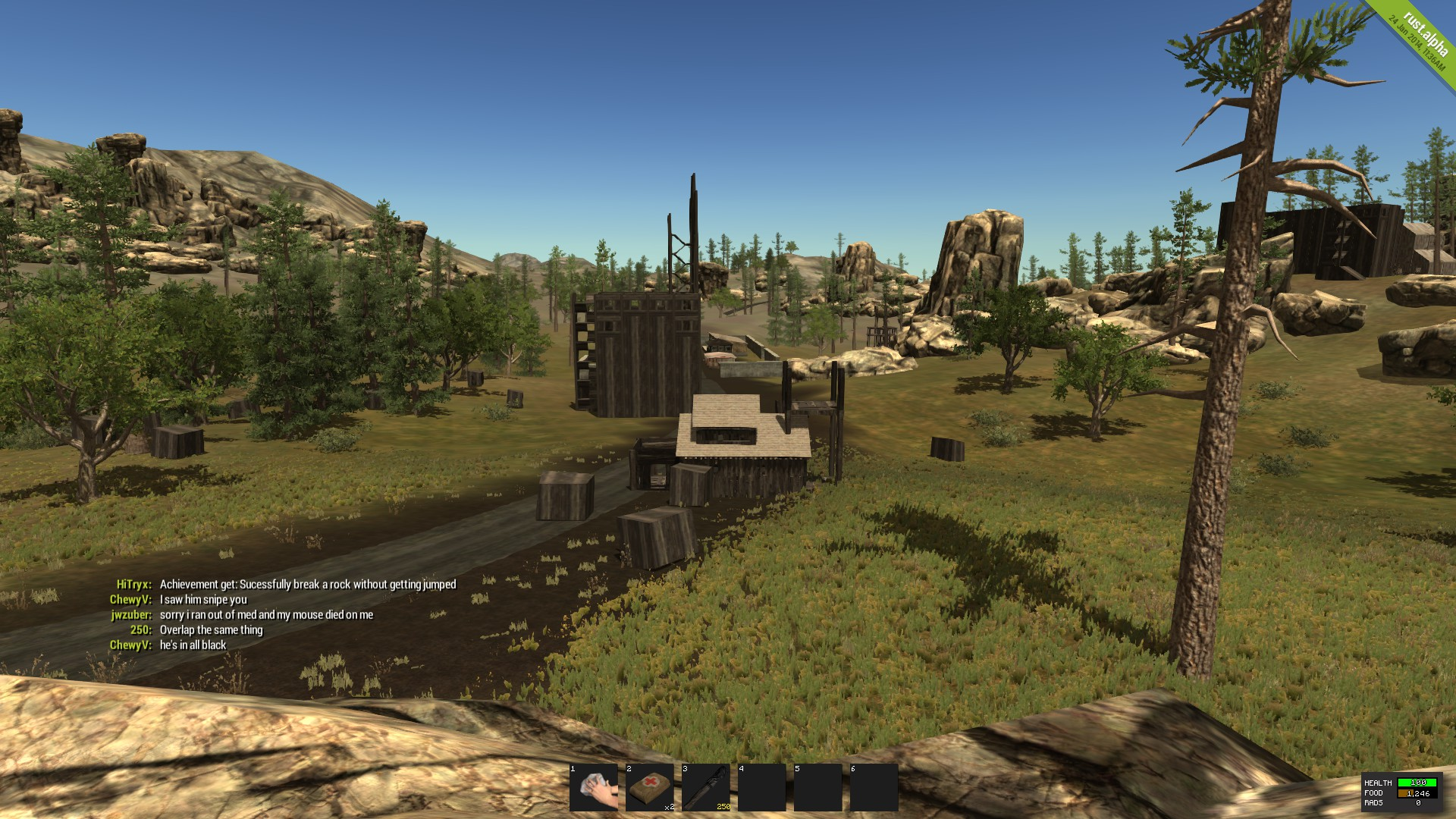 how to get rust for free with multiplayer 2016