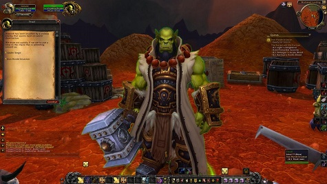 how to get to blasted lands horde from orgrimmar