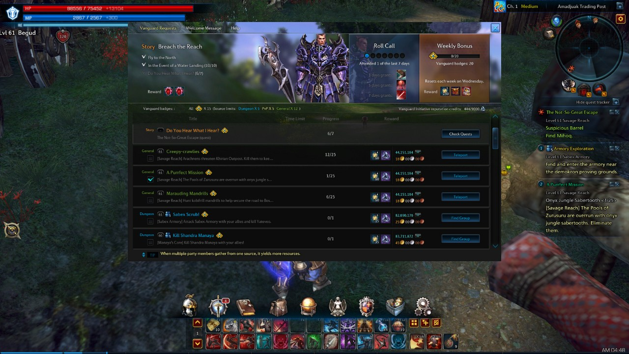 Tera how to teleport to friends