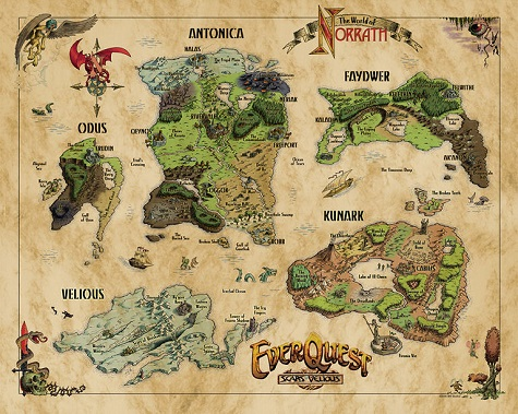 Pillars Of Eternity World Map Complete.Dave Georgeson On Creating New Worlds Mmorpg Com