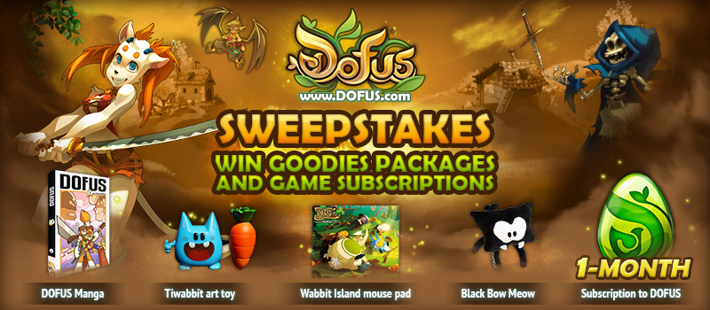 DOFUS Prize Pack Giveaway