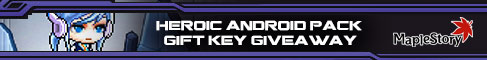 Get Your gift key for MapleStory!