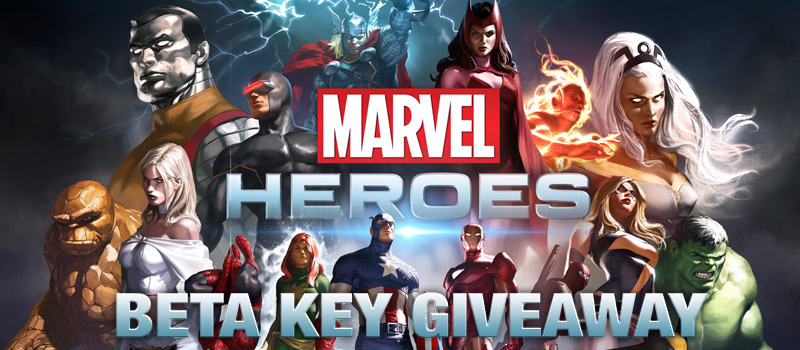 Marvel heroes beta key giveaway