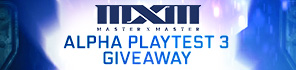 Get Your Alpha 3 Key for MXM!