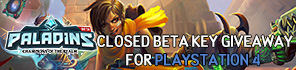 Get Your Paladins Console Beta Key!