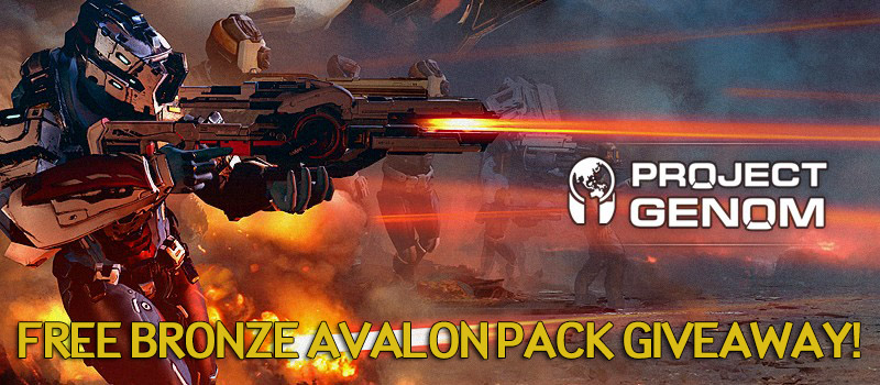 Project Genom Bronze Avalon Pack Giveaway!