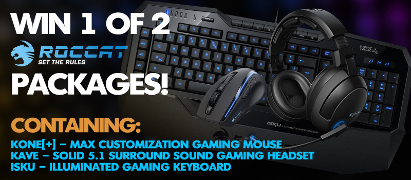 ROCCAT Hardware Budle Sweepstakes