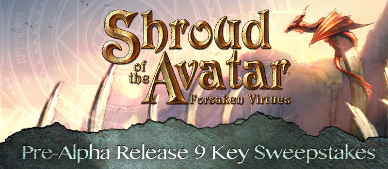Shoud of the Avatar Beta Sweepstakes