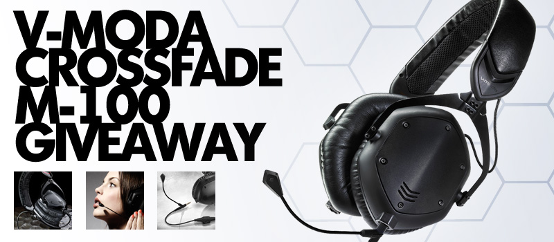 V-Moda Crossfade M-100 Sweepstakes!