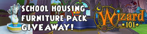 Get Your Free School Housing Pack For Wizard101!