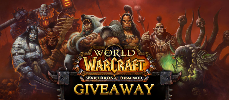 World of Warcraft: Warlords of Draenor Beta Sweepstakes