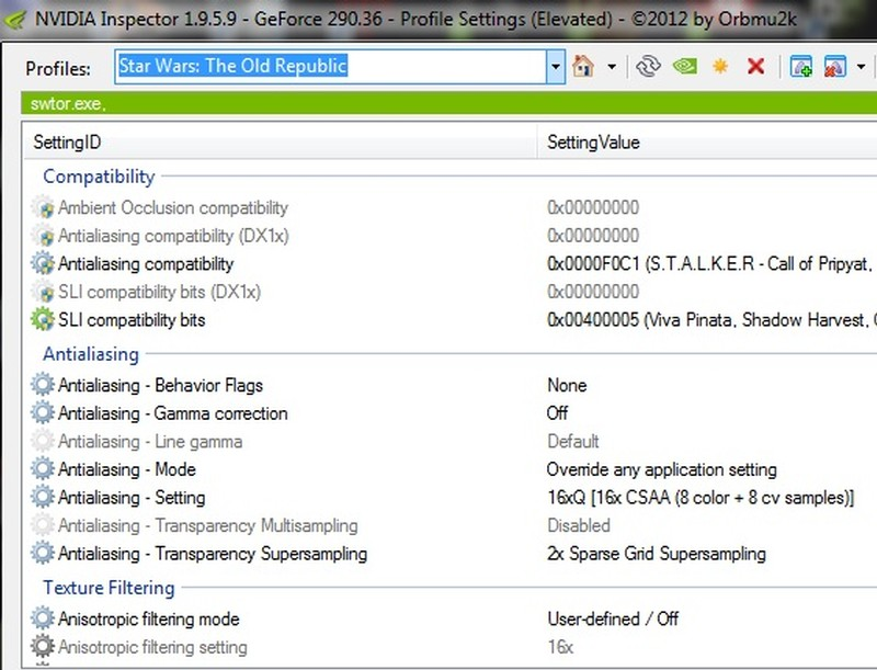 how to add windows store games to nvidia profile inspector