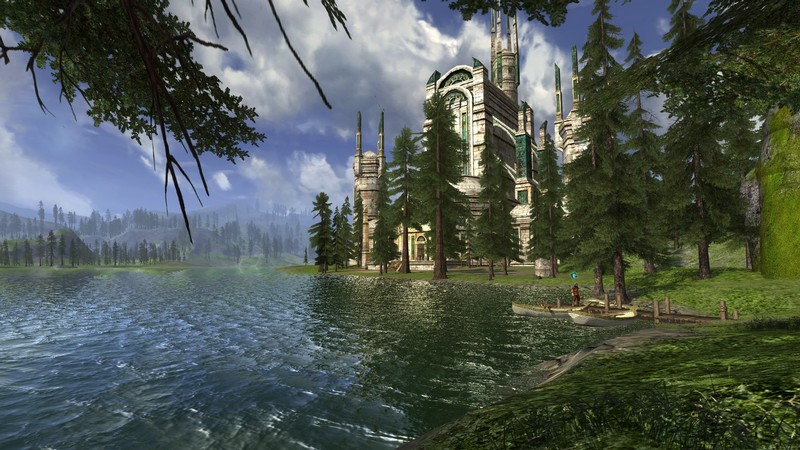 lotro trumps Vanguard for enviroments and lighting,texture and the like.