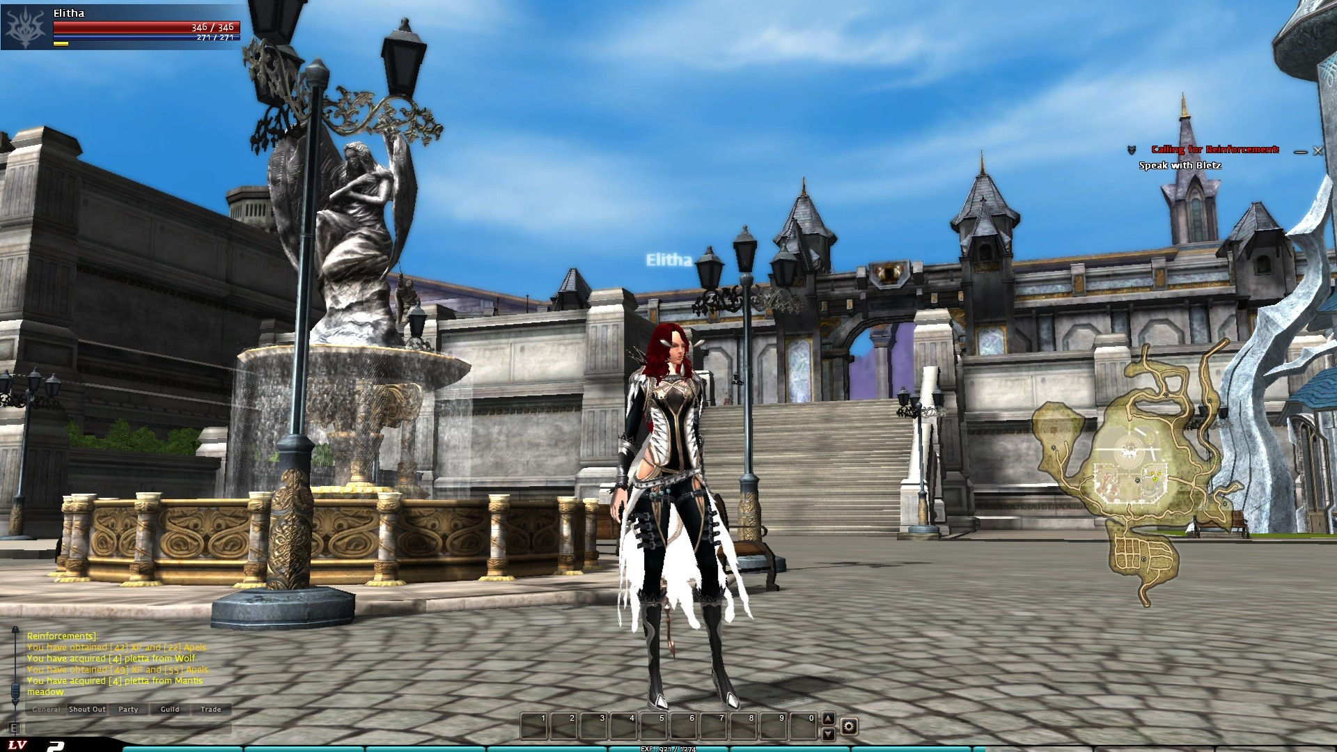 I was trying out The Guardian by Gamengame. Personally? A very cheap, poor Tera rip-off.