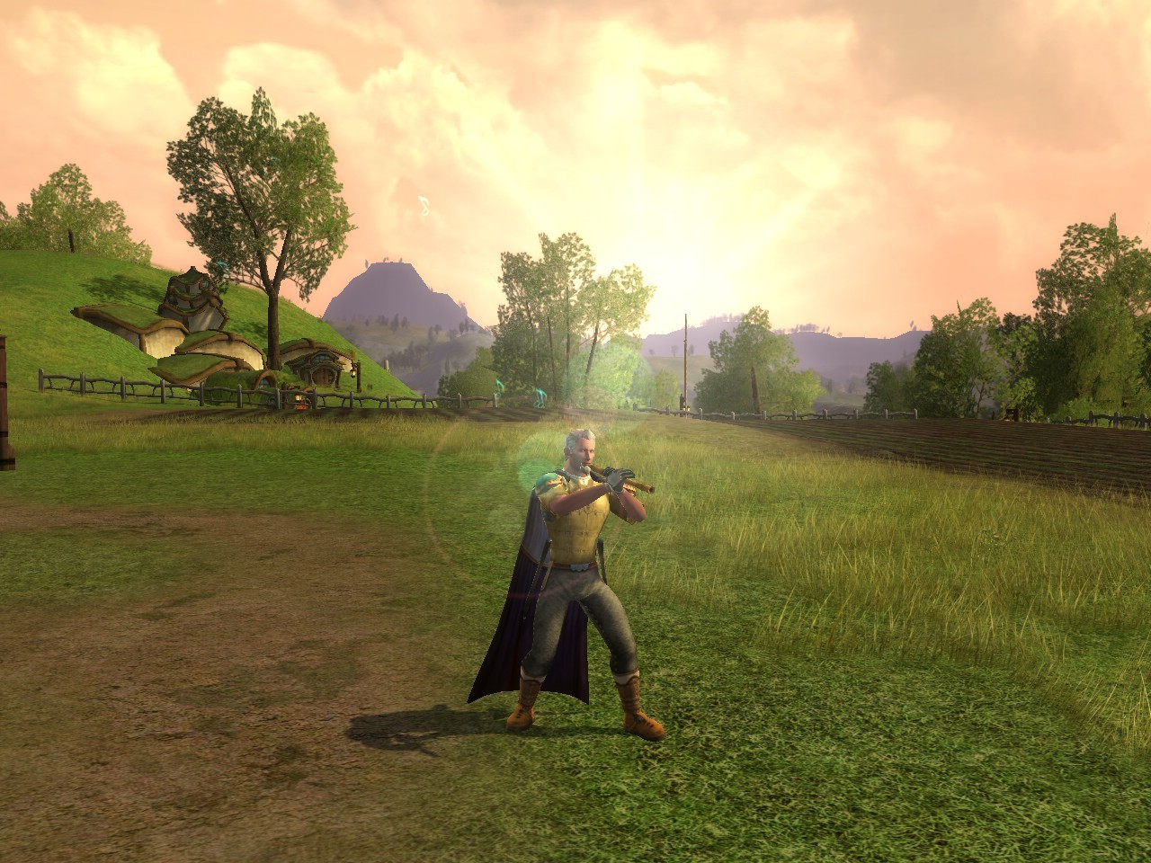 Lord of the Rings Online - Nice Glare Effect