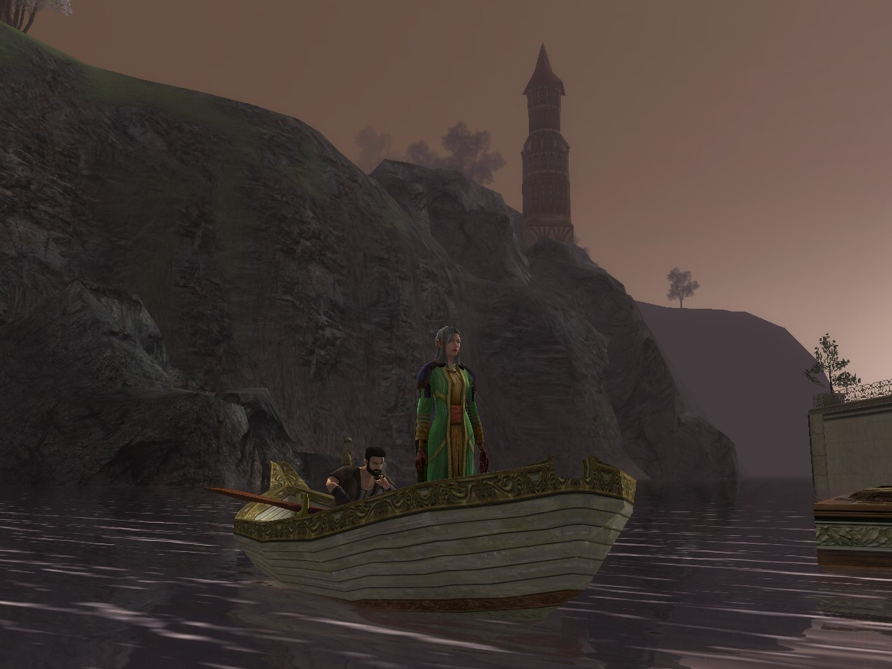 Lord of the Rings Online - Just Posing(No Working Boats)