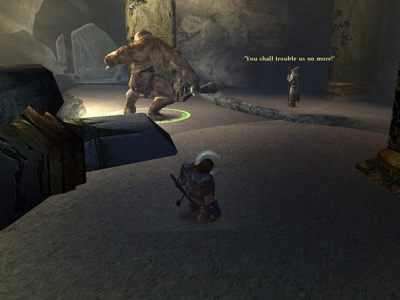 Lord of the Rings Online - Stopped that Troll in its Tracks