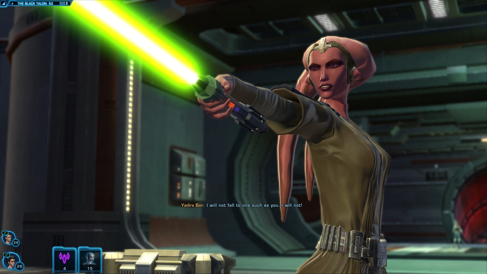Star Wars: The Old Republic - One of my favorite scenes