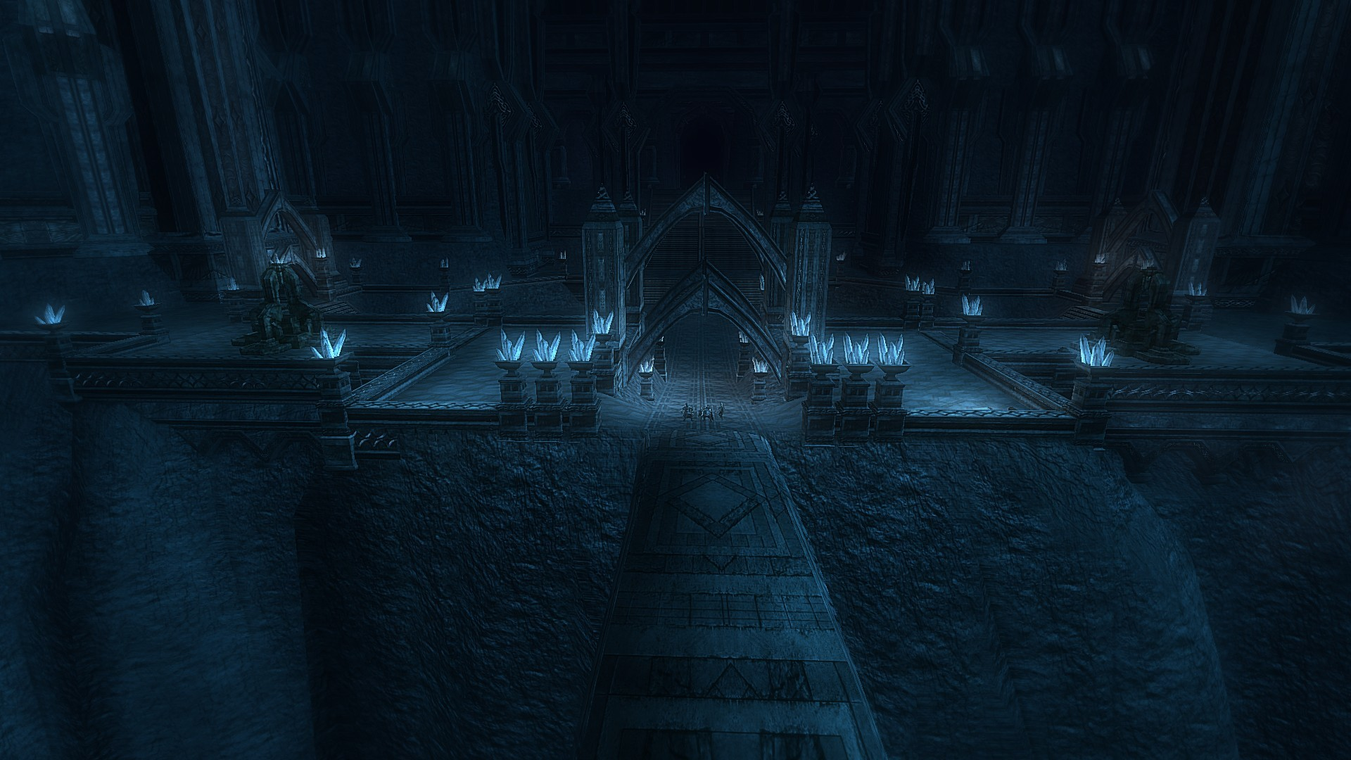 Lord of the Rings Online - A grand hall indeed