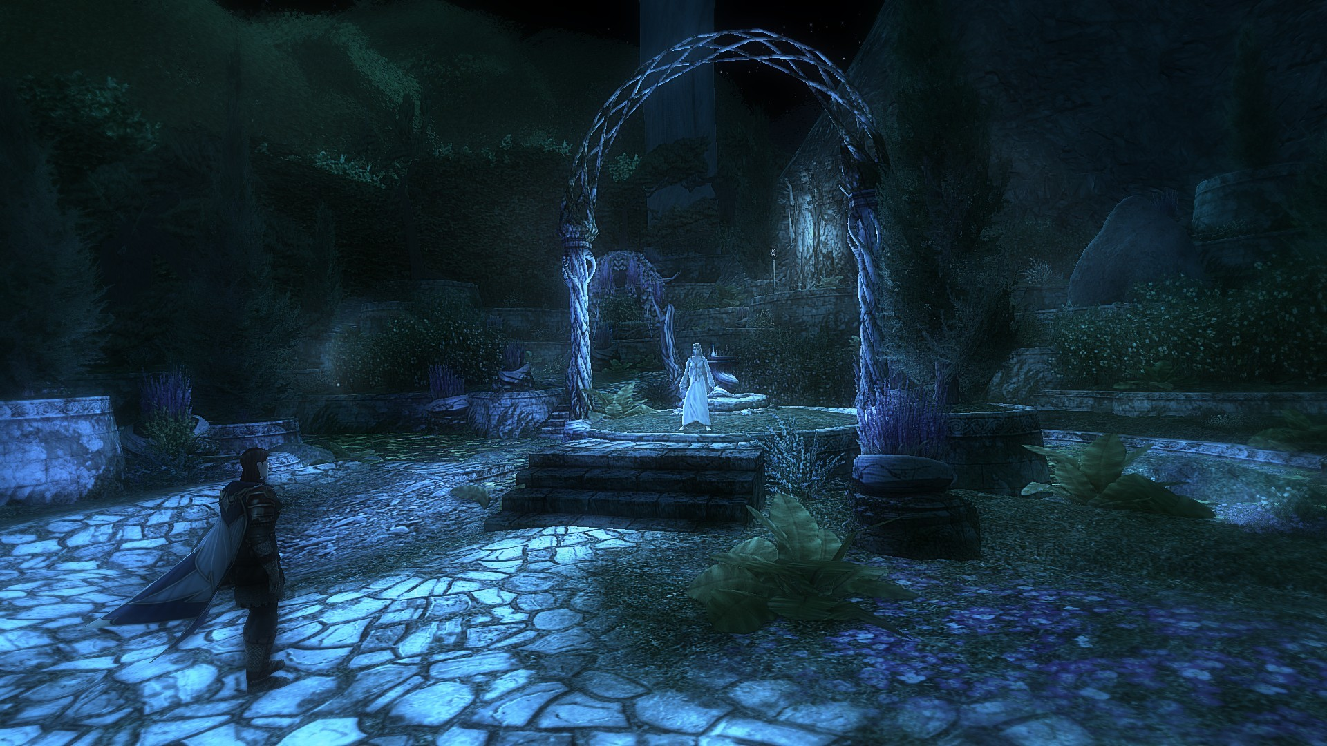 Lord of the Rings Online - The fair Galadriel... and a warning