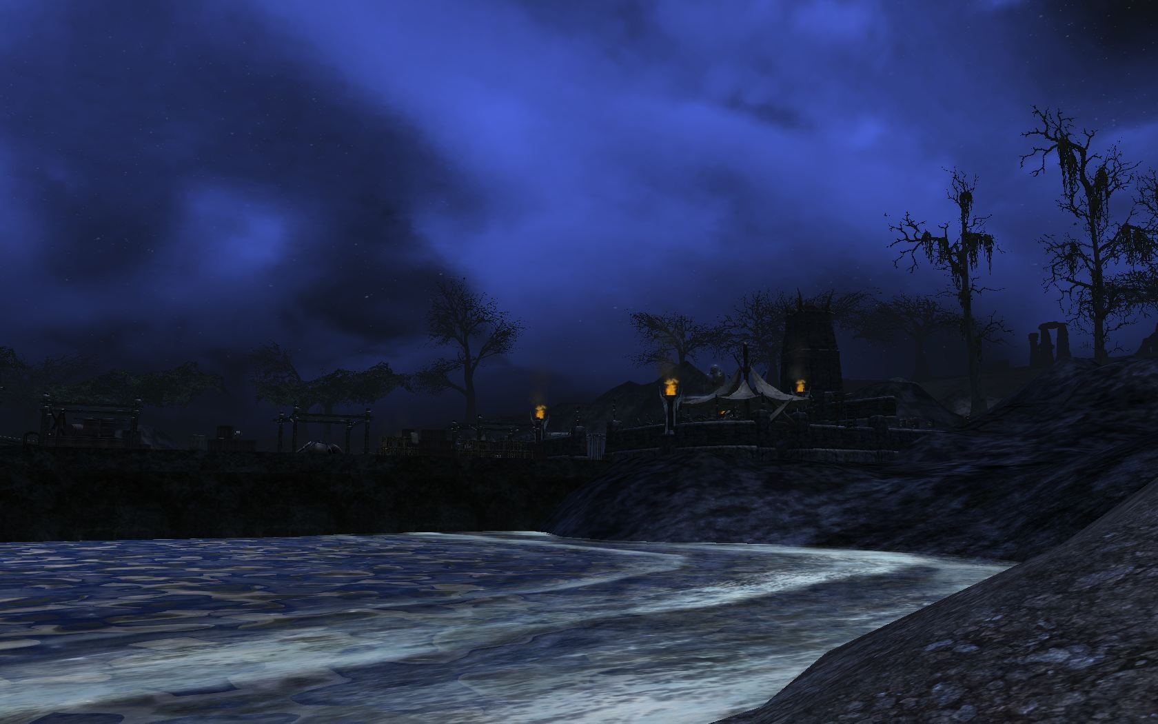 Darkfall - Goblin Camp at Night