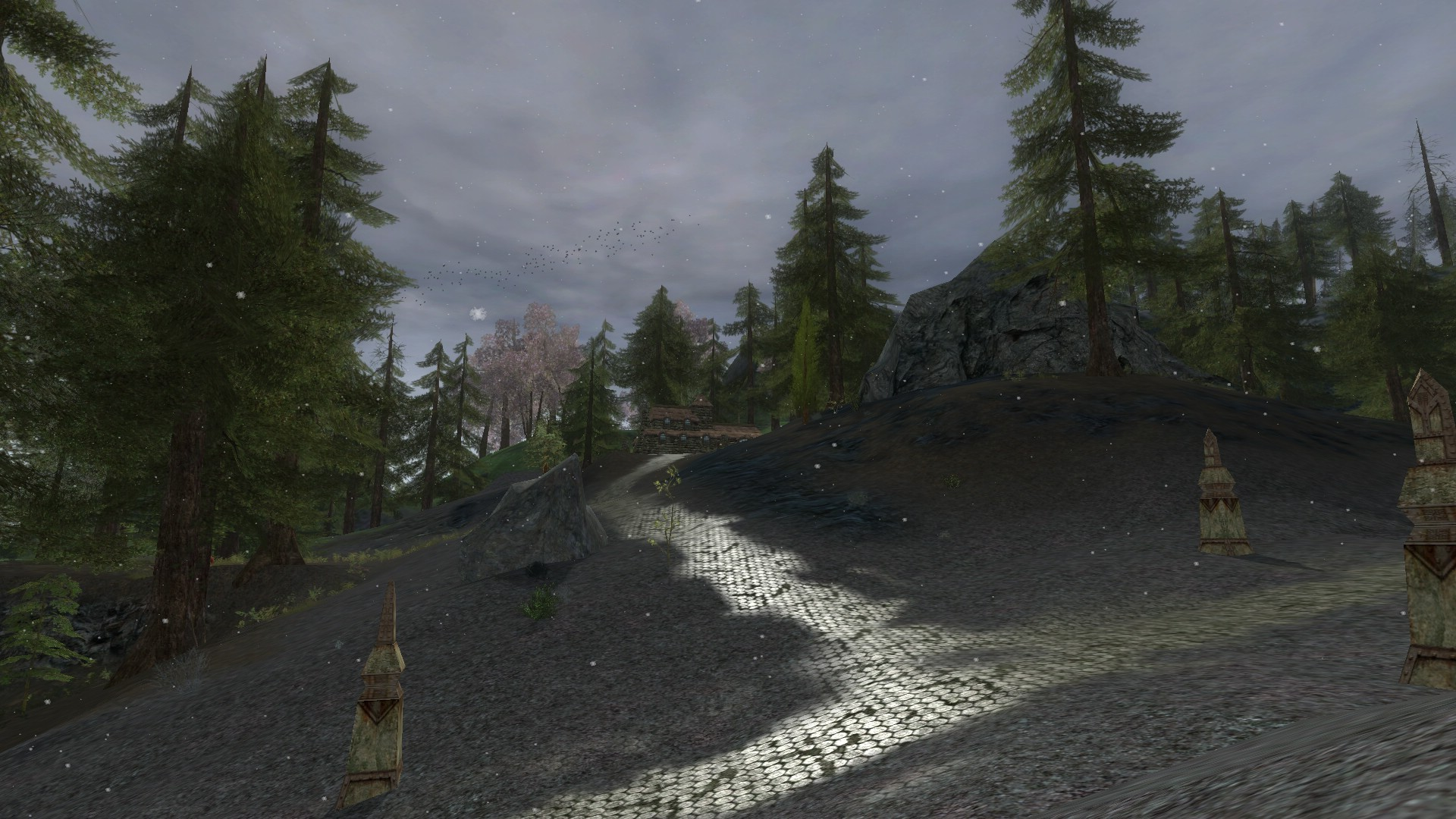 Lord of the Rings Online - Snowy Dwarven Fields