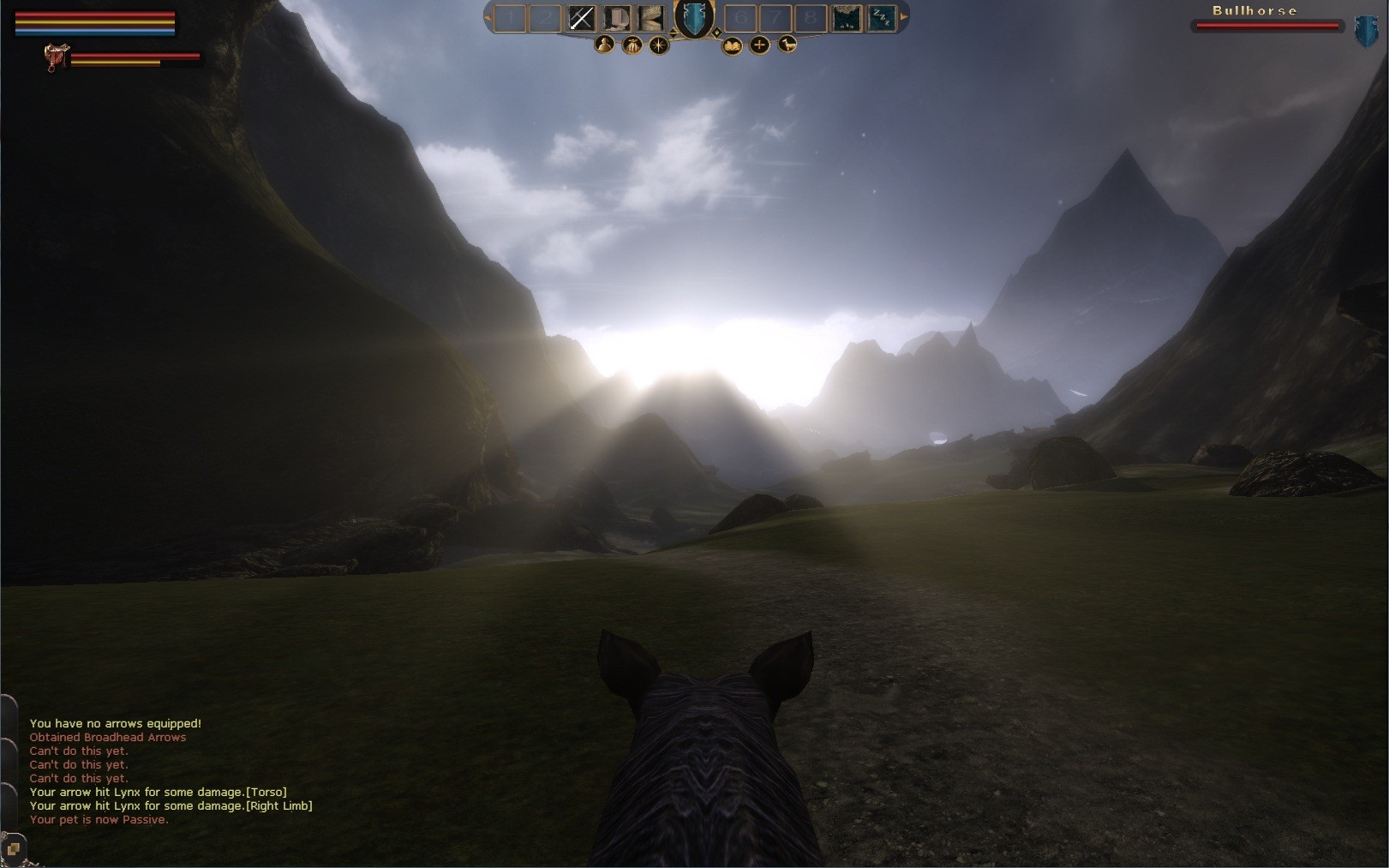 Mortal Online - Mountain Sunrise