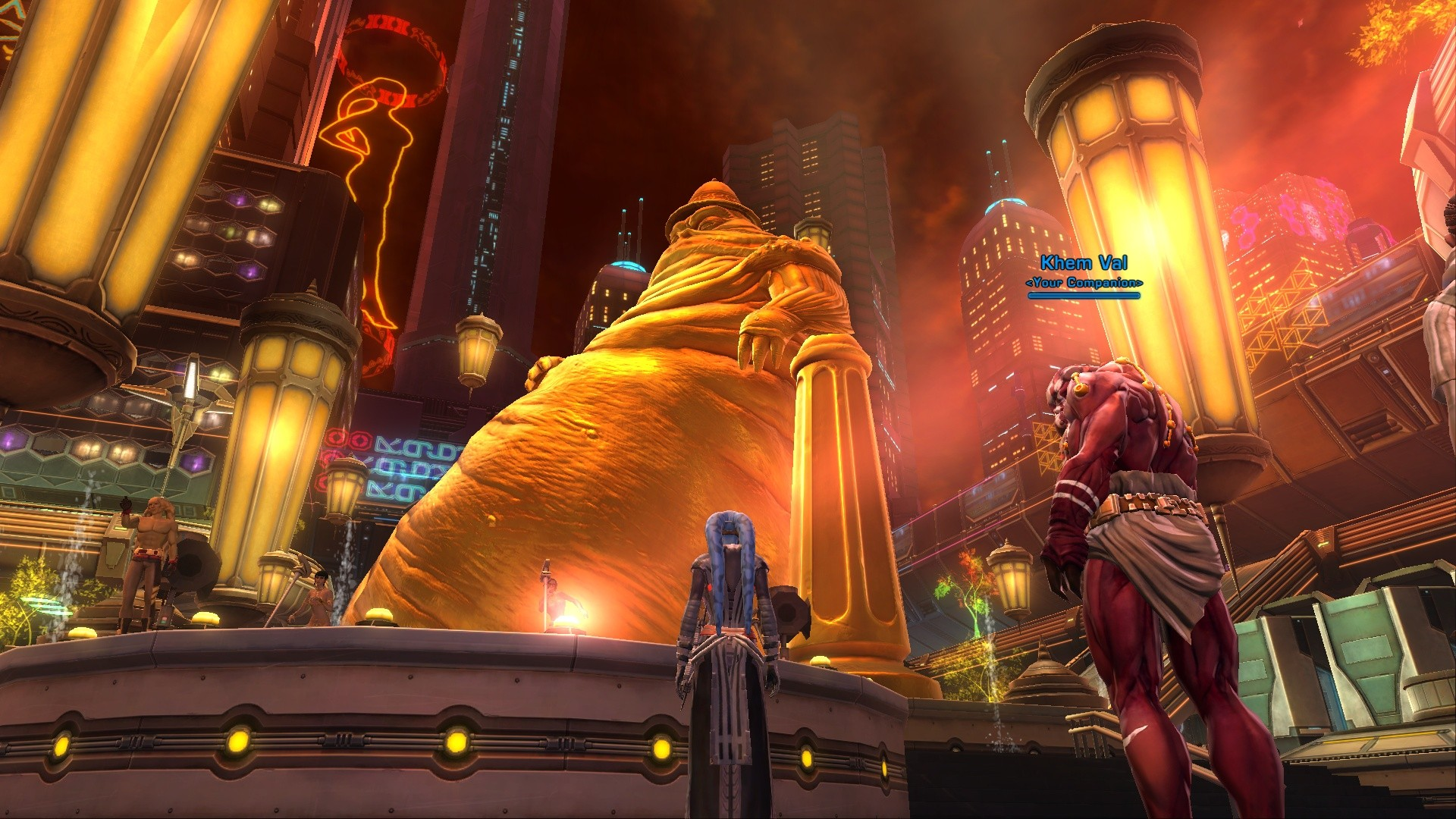 Star Wars: The Old Republic - Seeing a monument of that size for vanity purposes, angers me. Which seems to work out pretty good since I'm a Sith.