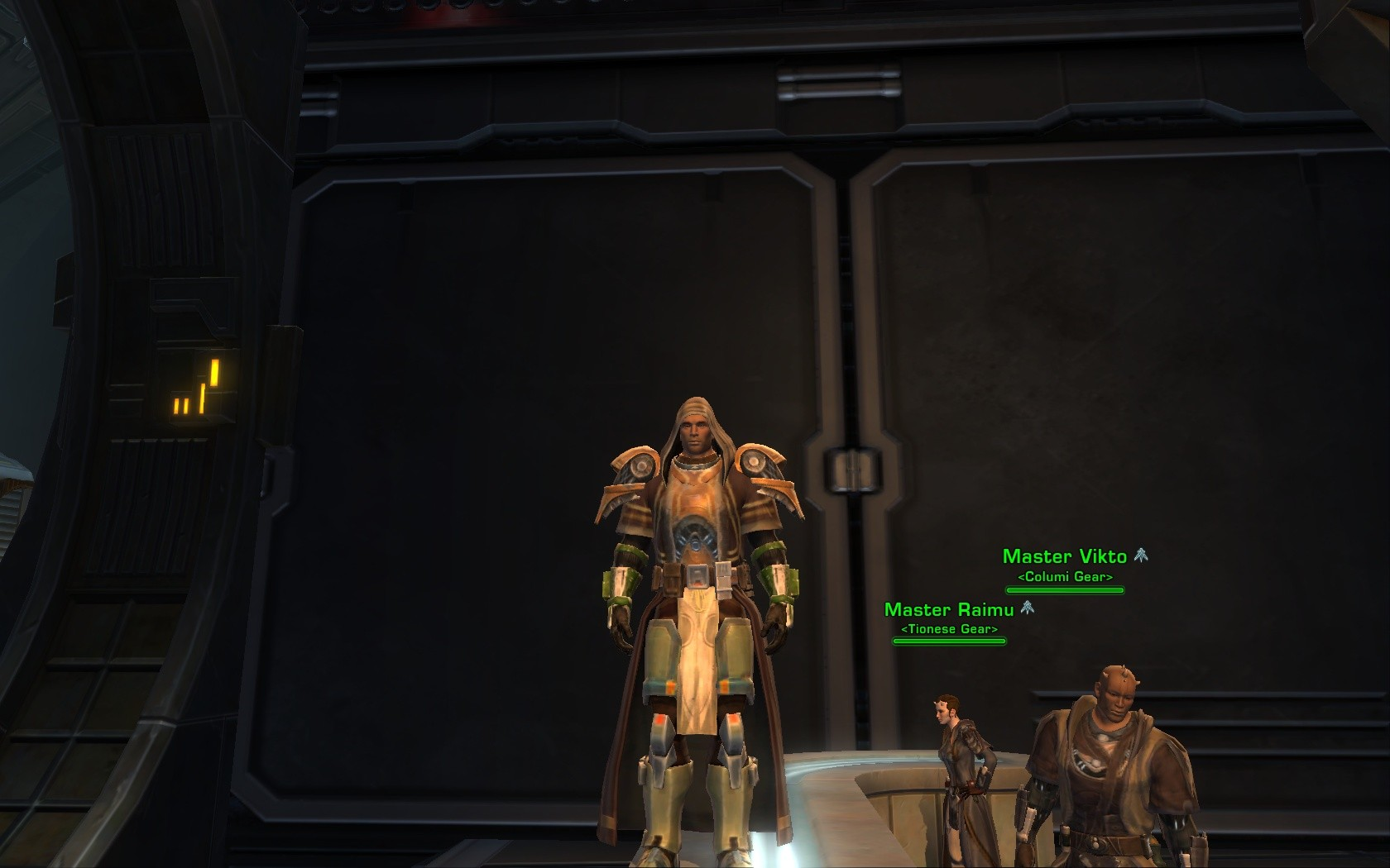 Star Wars: The Old Republic - Columi chest armor, and there's no way to change it's appearance