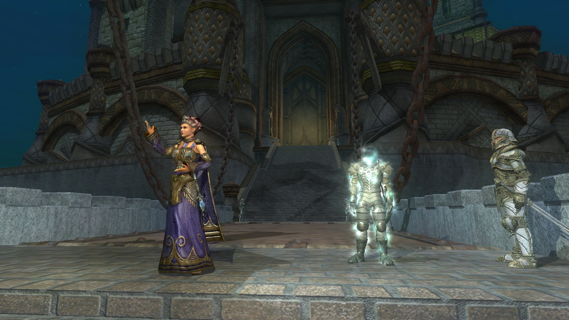 EverQuest II - Queen and King Bayle in Qeynos