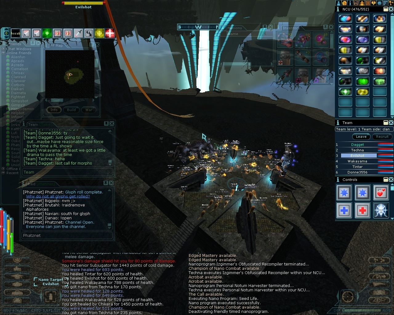 Anarchy Online - Leet Raid at Portal