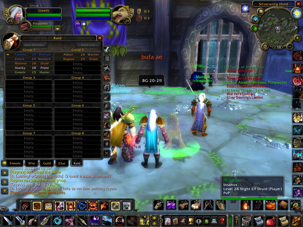 World of Warcraft - BG 20-29