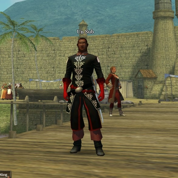 Pirates of the Burning Sea - One good thing about POTBS: great costume options right off the bat.