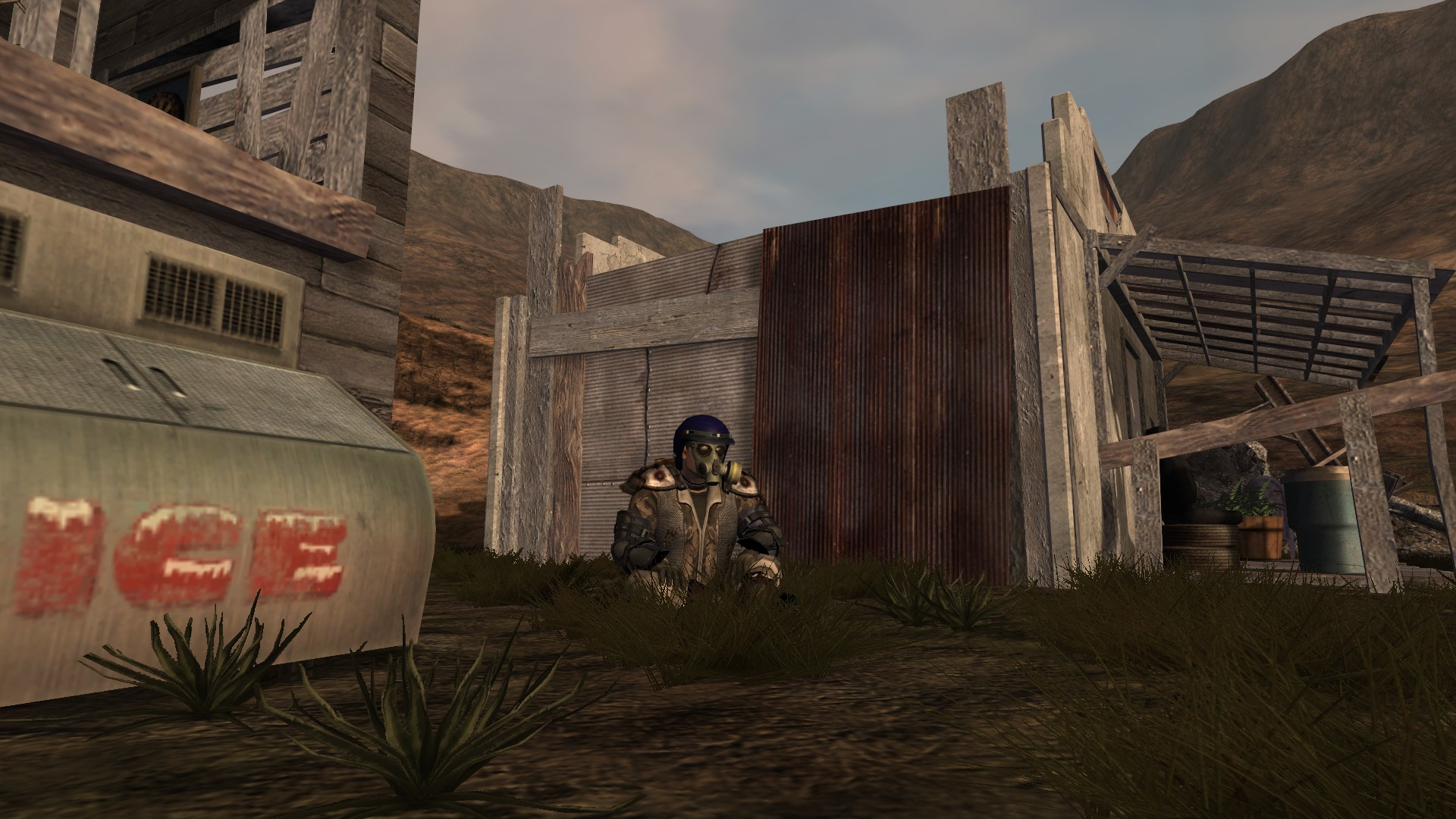 Fallen Earth - Fallen Earth - Just chilling out in Pass Chris